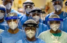 Com pandemia, morte de profissionais de saúde cresce 24,5%.