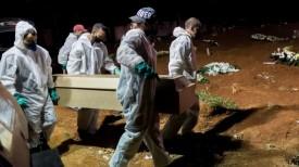 Pela 1ª vez, mortes pela covid no país superam a soma de todas as outras doenças